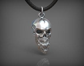 3D printable model Pendant Skull 04