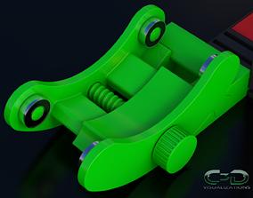Tevo Flash - Spool Holder gadgets 3D print model