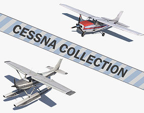 3D model Cessna Collection