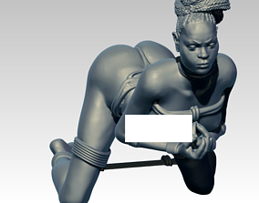 Woman Statue 3D printable model