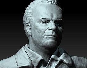 Mikhail Kalashnikov 3D print model of