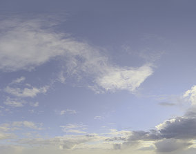 3D model day Skydome HDRI - Day Clouds