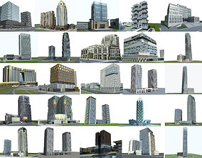 3D Building Collection 02