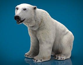 POLAR BEAR FEMALE 3D model