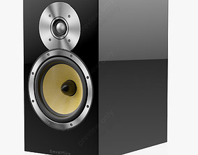 3D Bowers and Wilkins CM 5 Black Gloss