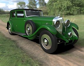 Bentley 8 Litre vintage car 3D