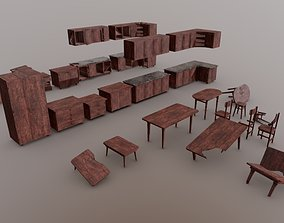 Simple Furniture pack 3D model