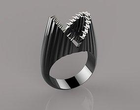 shark ring 3D print model