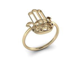 3D print model Jewelry Hamsah ring