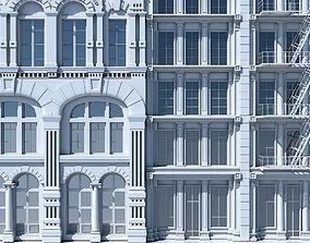 Commercial Building Facade 06 3D