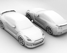 Low Poly Nissan Skyline GTR 3D model