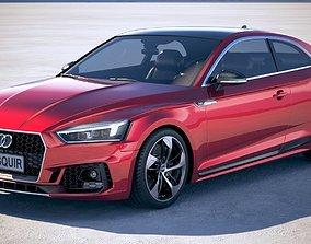 Audi RS5 Coupe 2018 3D model 2017