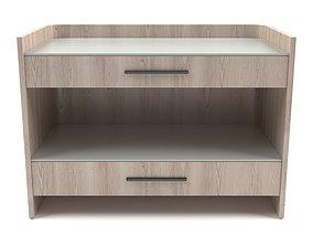 Universal Furniture - Nina Magon Nightstand 3D model