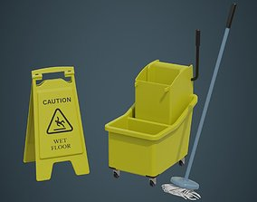 Mop Wringer 1A 3D model