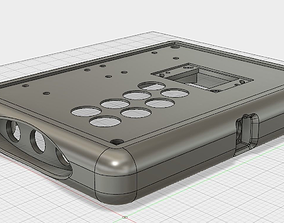 3D printable model Arcade Stick Barebones Case