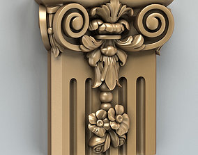 finishes 3D model Column Capital 006
