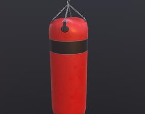 equipment 3D model VR / AR ready Punching bag
