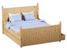Bed Gurdal IKEA 3D model