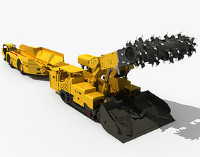 Roadheader and Special Truck 3D
