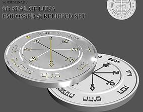 6th Seal of Luna 3D print model