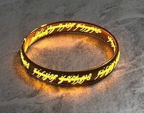 3D asset The One Ring