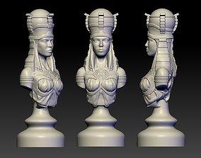 chessboard Rook of Egypt 3D print model