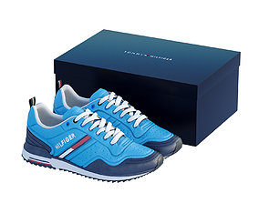 3D model realtime Tommy Hilfiger Sport Shoe