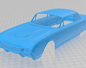 Thunderbird 1961 Printable Body Car