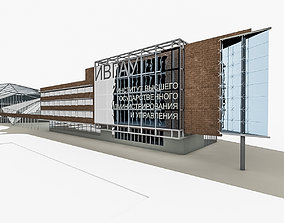 University Campu 3D model