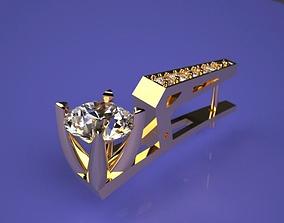 3D print model earrings Earrings techno