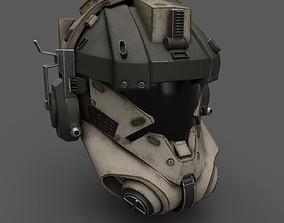 Scifi helmet ver 12 3D model