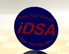 3D model Simple Print Pin