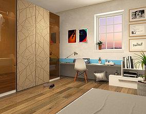 Kids Bedroom II 3D model