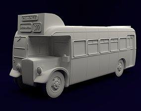 1950s Bristol LL5G Bus 3D printable model