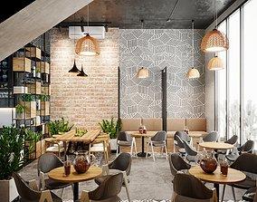 3D Scandinavian the Coffee House 2