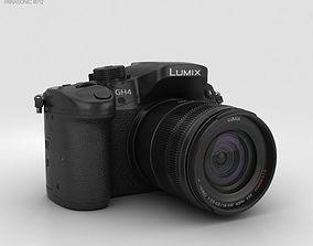 3D model Panasonic Lumix DMC-GH4