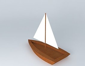 sail 3D model Sailboat