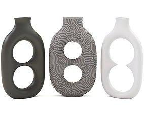 3D Incircle Vases Set