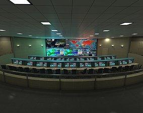 Mission Control Center station 3D model