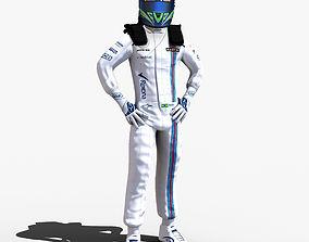 Felipe Massa 2017 3D asset