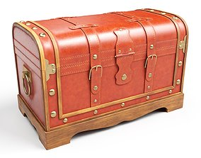 3D model Old Chest 07