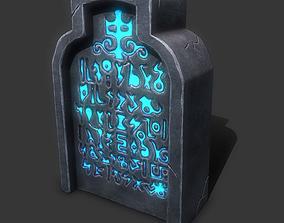 3D asset Gravestone