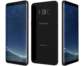 Samsung Galaxy S8 Midnight Black 3D model