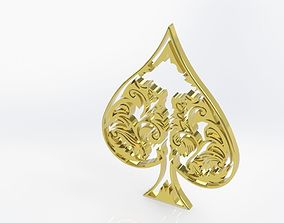 playcards 3D Ace of Spades