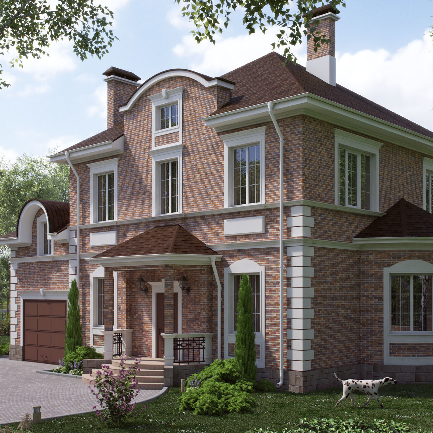 Visualization of a private house