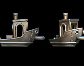 Boat charm 3D print model