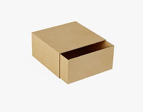 3D asset Cardboard Box 1