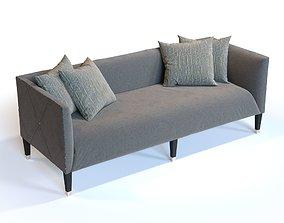 Bernhardt Furniture N2257 Monaco Settee 3D model