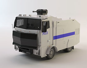 Toma - Turkish Police Vehicle For Riot Control 3D model