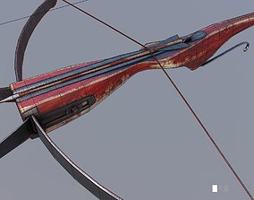 3D model medieval crossbow weapon